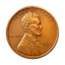 1919 D Lincoln Wheat Cent - Choice BU / MS / UNC