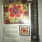 "NIP Dimensions Needlepoint Funky Flower by Ann Tavoletti 14""x14"" #71-20074"