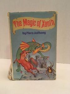 """""""The Magic of Xanth"""" by Piers Anthony - HC Book 1979 BCE Fantasy Fiction"""