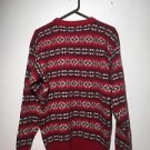 Vintage Chaps Ralph Lauren Boy Scout Label Wool Size Large Men Sweater Christmas