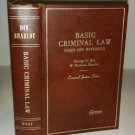 Basic Criminal Law George E Dix and M. Michael Sharlot Criminal Justice Series