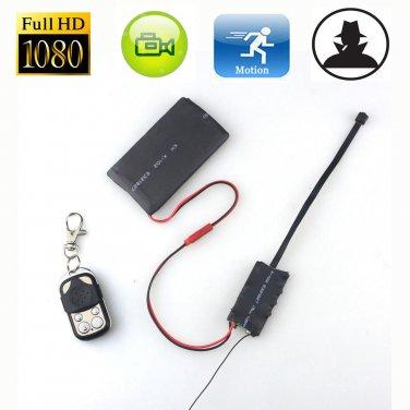 Full HD 1080P 12MP DIY Module Spy Hidden Camera Remote Control Digital Video DVR