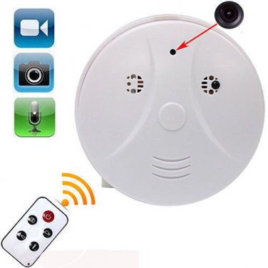 Mini HD DVR SPY Hidden Camera Smoke Detector Motion Detection Video Recorder Cam
