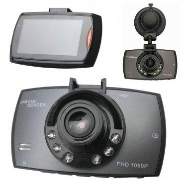 "HD 2.7"" LCD 1080P Car DVR Vehicle Camera Video Recorder Dash Cam Night Vision"