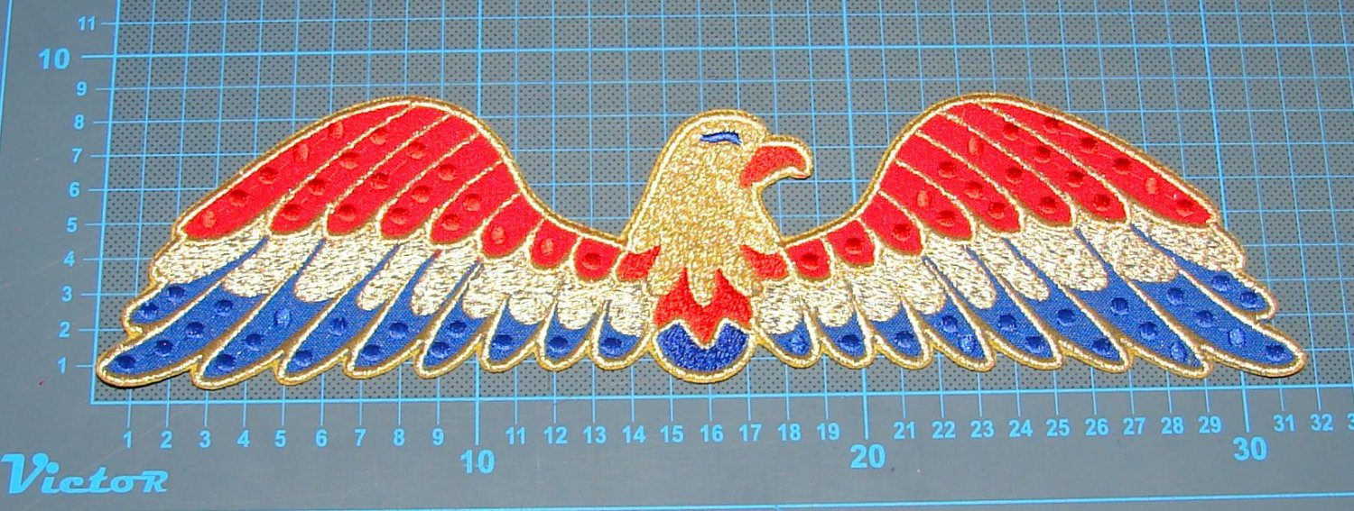 Elvis Presley jumpsuit cape american eagle costume embroidery patch