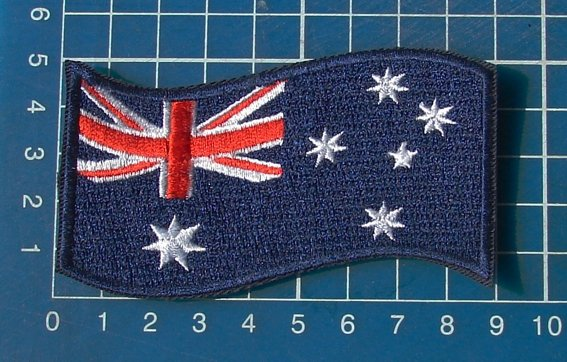 Australian Flag Military tactical Army Patch Sew on Embroidery
