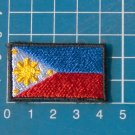 Philippine Flag Military Tactical Patch Sew on Embroidery