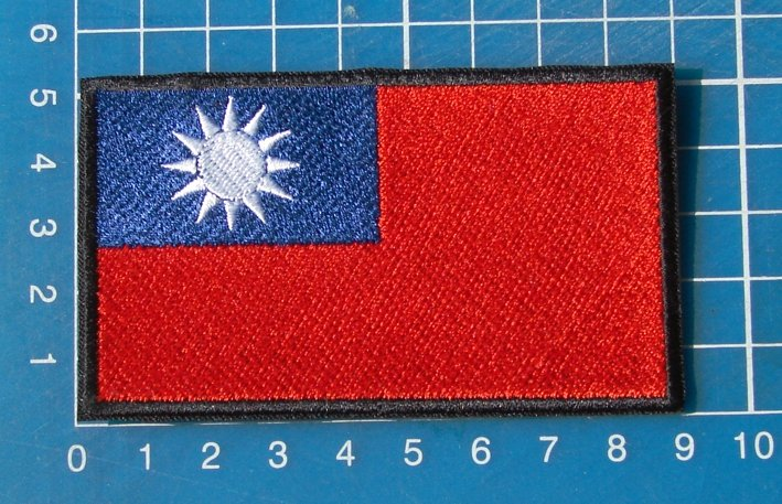 Thailand Flag Military Tactical Army Patch Sew On Embroidery