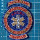 National Registry EMT Paramedic Critical Care Rocker NREMT EMT Patch