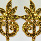 pair appliques sequins applikationen pailletten sew on embroidery handmade ap37