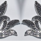 pair appliques sequins applikationen pailletten sew on embroidery handmade ap43