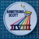 NASA Space Mission Gemini 8 Astronauts Armstrong Scott Patch on Embroidery