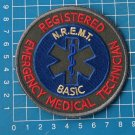 EMR N R E M T Emergency Medical Technician Basic sew on embroidery patch