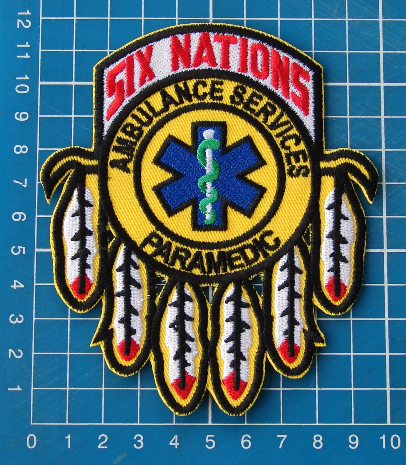 Six Nations Medical care AMR sew on embroidery patches