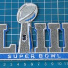 Super Bowl LIII, the 53rd Super Bowl Patches sew on embroidery