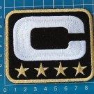 SUPERBOWL NFL TEAM LEADER JERSEY CAPTAINS BLACK PATCH GOLD 4 STAR
