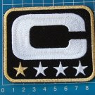 SUPERBOWL NFL TEAM LEADER JERSEY CAPTAINS BLACK PATCH GOLD 1 STAR