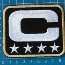 SUPERBOWL NFL TEAM LEADER JERSEY CAPTAINS BLACK PATCH