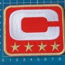 SUPERBOWL NFL TEAM DENVER BRONCOS LEADER JERSEY CAPTAINS  PATCH