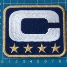 SUPERBOWL NFL  LEADER JERSEY NAVY BLUE CAPTAINS PATCH 4 STAR GOLD