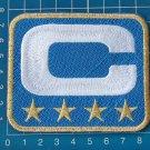 SUPERBOWL NFL TEAM LEADER JERSEY CAPTAINS LIGHT BLUE PATCH GOLD 4 STAR