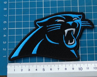 purchase cheap 32ea7 79b92 carolina panthers team logo patch NFL football superbowl sew ...