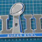 2018 Season Super bowl LII 52 Jersey Patch sew on embroidery tshirts jackets cap