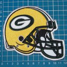 Green Packers helmet patch NFL sew on embroidery