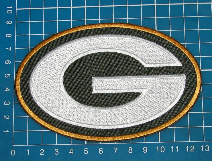 Green Bay Packers NFL Football Team Patch sew on embroidery
