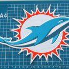 Miami Dolphins NFL Football Team Huge  Patch sew on embroidery