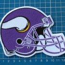 Minnesota Vikings NFL Football Superbowl Jersey HELMET Patch sew embroidery