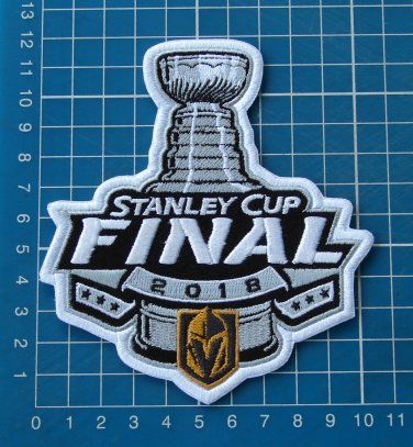 info for 5942c 553d7 2018 STANLEY CUP FINAL JERSEY PATCH NHL VEGAS GOLDEN KNIGHTS sew on  embroidery