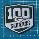 2018 GREEN BAY PACKERS 100 SEASONS COMMEMORATIVE PATCH FOOTBALL NFL EMBROIDERY