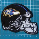 Baltimore Ravens Football NFL Superbowl Jersey sew on embroidery HELMET patch