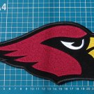"ARIZONA CARDINALS FOOTBALL NFL 10"" HUGE LOGO EMBROIDERY PATCH"