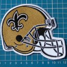 NEW ORLEANS SAINTS NFL FOOTBALL LOGO HELMET JERSEY PATCH SEW ON EMBROIDERY