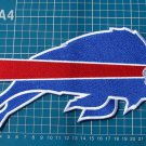 "BUFFALO BILLS FOOTBALL NFL LOGO 10"" HUGE PATCH SEW ON EMBROIDERY"