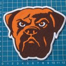 "CLEVELAND BROWNS NFL FOOTBALL 5"" JERSEY PATCH EMBROIDERED"