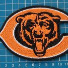 "CHICAGO BEARS NFL FOOTBALL 5"" JERSEY PATCH LOGO BEARS IN C EMBRO"