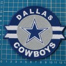"DALLAS COWBOYS LOGO NFL FOOTBALL 5"" JERSEY PATCH EMBROIDERED"