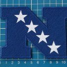 """NFL NATIONAL FOOTBAL CONFERENCE 4.5"""" LOGO PATCH JERSEY EMBROIDERED"""