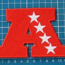 "AMERICAN FOOTBALL CONFERENCE AFL NFL LOGO PATCH 4.5"" JERSEY EMBROIDERED"