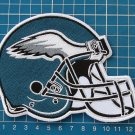 "PHILADELPHIA EAGLES 5"" HELMET PATCH SUPERBOWL NFLHUGE BACK JERSEY EMBROIDERY"