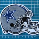 Dallas Cowboys helmet patch NFL football superbowl huge sew on embroidery