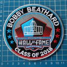 BOBBY BEATHARD 2018 NFL HALL OF FAME FOOTBALL SUPERBOWL LOGO PATCH EMBROIDERED
