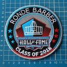RONDE BARBER 2018 NFL HALL OF FAME FOOTBALL SUPERBOWL LOGO PATCH EMBROIDERED
