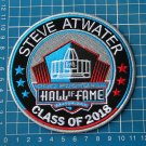 STEVE ATWATER 2018 NFL HALL OF FAME FOOTBALL SUPERBOWL LOGO PATCH EMBROIDERED