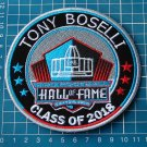 TONY BOSELLI 2018 HALL OF FAME NFL PROFOOTBALL SUPERBOWL SEW ON EMBROIDERY