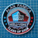 PRO FOOTBALL HALL OF FAME CANTON OHIO 2018 ALAN FANECA NFL SUPERBOWL PATCH