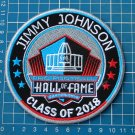 JIMMY JOHNSON HOF PRO FOOTBALL HALL OF FAME NFL SUPERBOWL PATCH EMBROIDERED